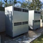 Doppel-Ausgeräte Luft-Wasser-Wärmepumpe