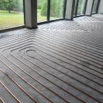 Fußbodenheizung Kupfer