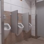 Öffentliche Toilettenanlage