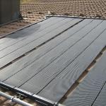 Solarmatten für Poolbeheizung